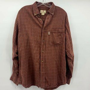 Woolrich Mens Shirt Multicolor Long Sleeve Size M